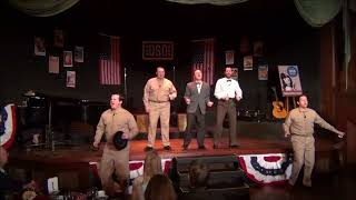 """That's what the well dressed man will wear"" - 2017 MNOp USO Show"
