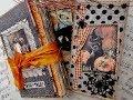 Authentique/Tim Holtz & Vintage Hallowen Journals