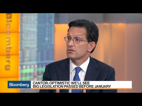 Eric Cantor Expects Big Legislation Before January
