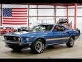 1969 Ford Mustang Mach 1 Blue