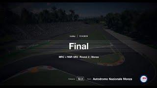 NxtGen Racing v MRC | GT Sport | GT3 | Season 14 | Round 2 | Monza