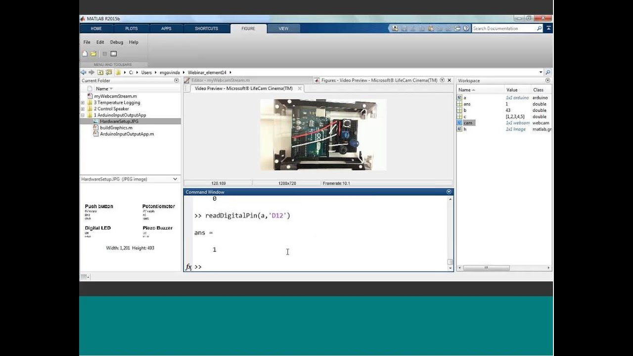 How to Use MATLAB with Arduino Boards   element14   Webinars