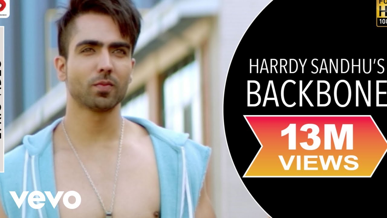 Harrdy Sandhu Backbone Jaani  B Praak  Lyrics Video