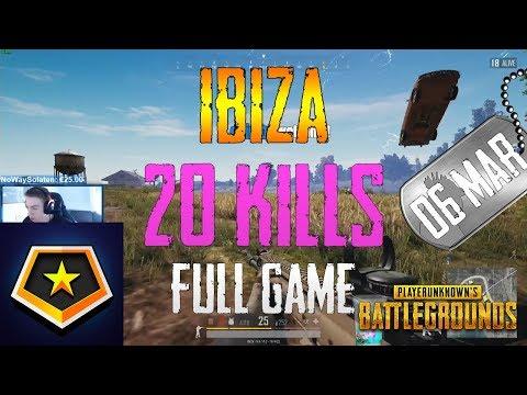 Ibiza | 20 Kills | PUBG