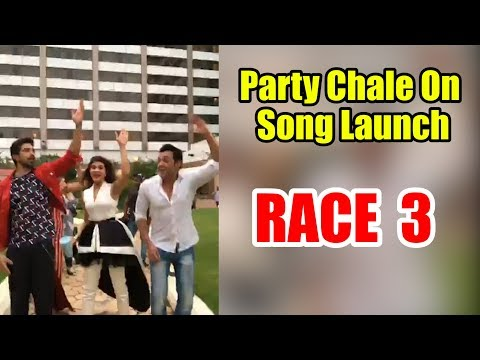 Party Chale On Song Launch | Race 3 |Salman Khan | Mika Singh, Iulia Vantur | Vicky-Hardik