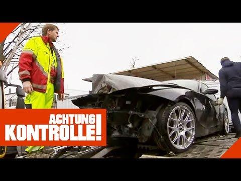 BMW nach schwerem Unfall! Lohnt sich eine Reparatur?   Achtung Kontrolle   kabel eins