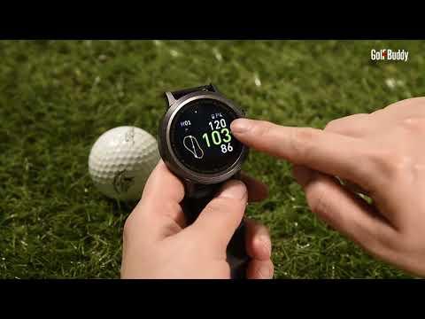 The GolfBuddy WTX GPS WATCH
