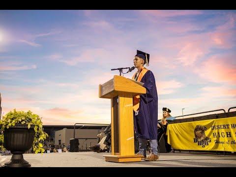 Desert Hot Springs High School Graduation Ceremony 2019 Highlights