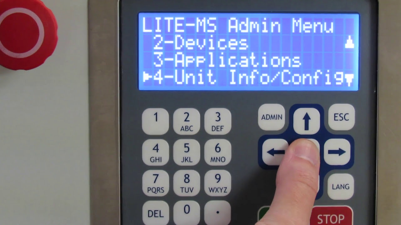 How to Edit Unit Information and Configuration Settings on an ALX-LITE or ELITE