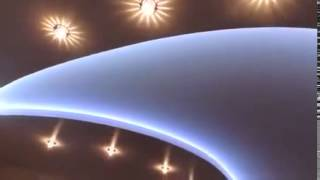 Многоуровневые натяжные потолки с подсветкой 3D в Усть-Каменогорске(, 2014-07-19T02:55:44.000Z)