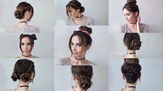 видео Простые прически на каждый день за 5 минут на длинные волосы