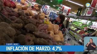 La inflación de marzo fue del 4,7%   #TPANoticias