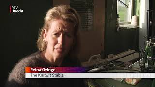 Breien in Baambrugge voor eerlijke wolindustrie [RTV Utrecht]