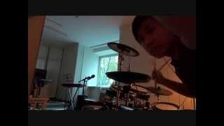 Youth gone wild drums cover