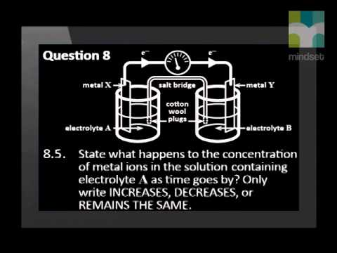Electrochemical Reactions Task Video