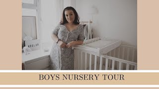 UPDATED NURSERY TOUR | Boys bedroom | Baby bedroom