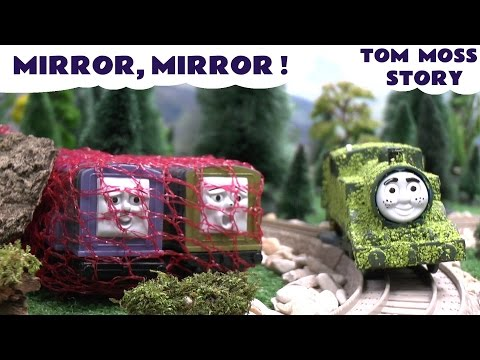 Thomas And Friends Tom Moss Play Doh Funny Prank Magic Mirror Diesel 10 Playdoh Kids Toy Story
