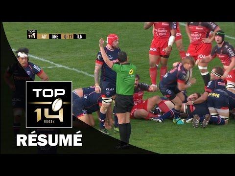 TOP 14 - Résumé  Grenoble-Toulon: 23-23 - J21 - Saison 2016/2017