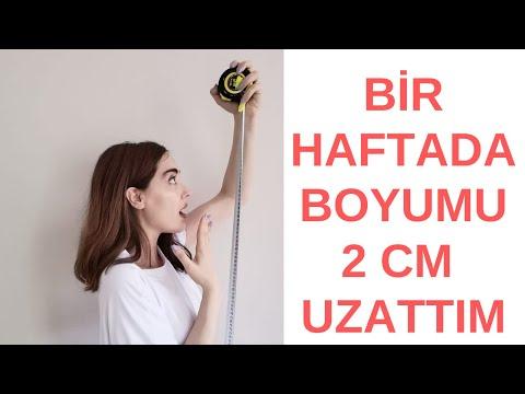 BOYUM UZADI #1  Boy Uzatma Egzersizi Denedim How to grow taller Streching Routin