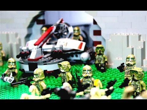 Lego Star Wars Republic Defense Fortress MOC