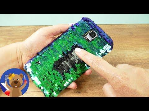 DIY obal na mobil v podobě mořské panny 💕📱 Obal měnící barvy | Summer Trend Idea