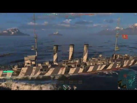 World of Warships - походы #5 (Omaha, New York, Myogi и др.)