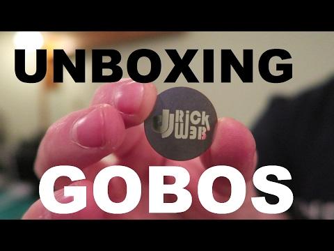 UNBOXING | Custom GOBOS for the ADJ INNO SPOT PROS