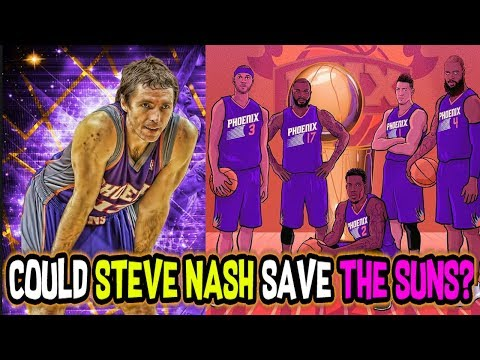 Could Steve Nash lead the 2017-2018 Phoenix Suns to an NBA FINALS? NBA 2K18 My League