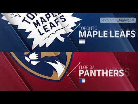 Toronto Maple Leafs vs Florida Panthers Jan 18, 2019 HIGHLIGHTS HD