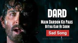 Main Dardon Ko Paas Bitha Kar Hi Soun - Hrithik Roshan 😔 Sad Song HindianYT - Super 30 Latest Song