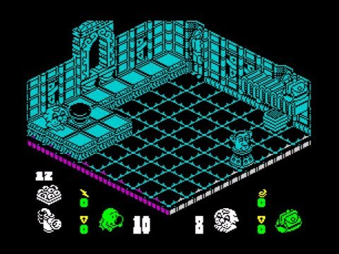 Head Over Heels Walkthrough, ZX Spectrum
