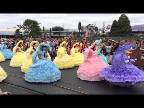Disney Easter Parade at Magic Kingdom theme park 2014