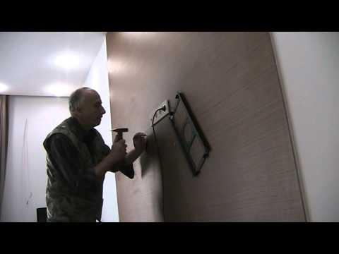 Крепление телевизора к стене в Киеве