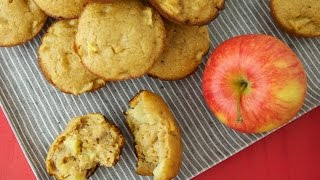 Apple Applesauce Muffins - Healthier Sweet Treats - Weelicious