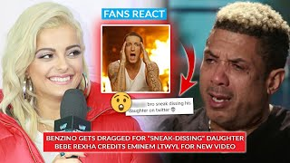 """Benzino Dragged For """"Sneak Dissing"""" Daughter Coi Leray, Eminem Credited By Bebe Rexha For New Video"""
