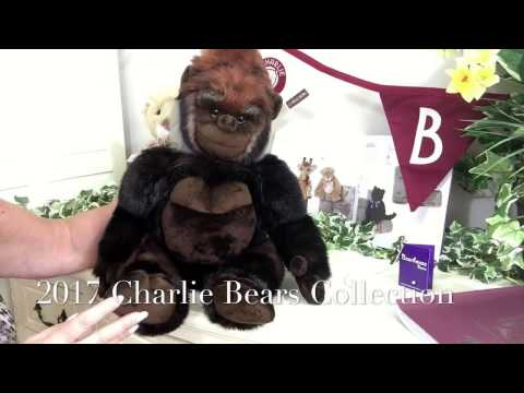 Charlie Bears Congo the Silver Back Gorilla BB173085