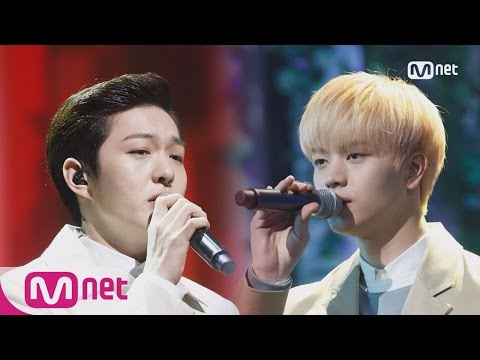BTOB (Changsub&Sungjae) - Never let you go+Exhausted Special Stage M COUNTDOWN 160324 EP.466