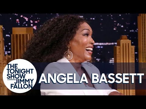 Ed Long - Angela Bassett Looked Stunning On The Tonight Show