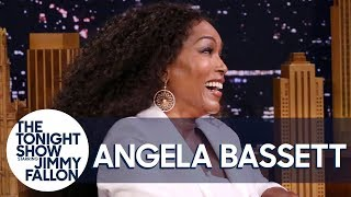 Angela Bassett talks about the time she surprised Tiffany Haddish, ...