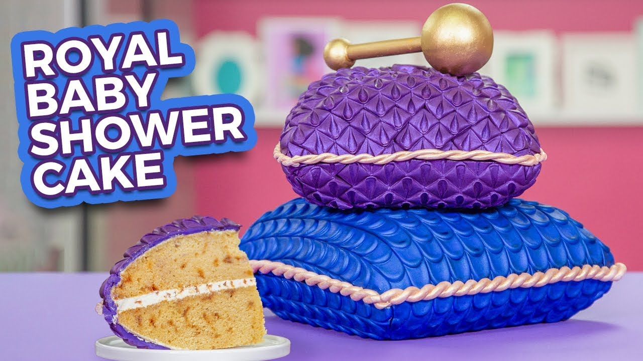 Royal Baby Shower Cake For Meghan Markle How To Cake It Youtube