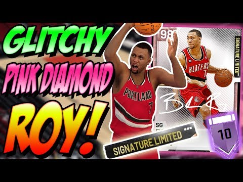 NBA 2K19 MYTEAM LIMITED EDITION PINK DIAMOND BRANDON ROY GAMEPLAY! YOU WON'T BELIEVE IT!