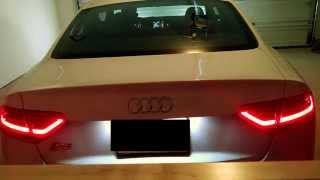 2013 Audi S5 Euro Taillight Conversion Function Check