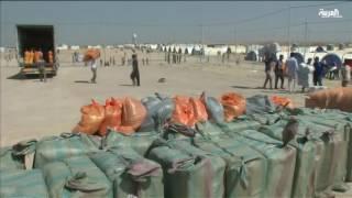 أزمة النازحين في الموصل