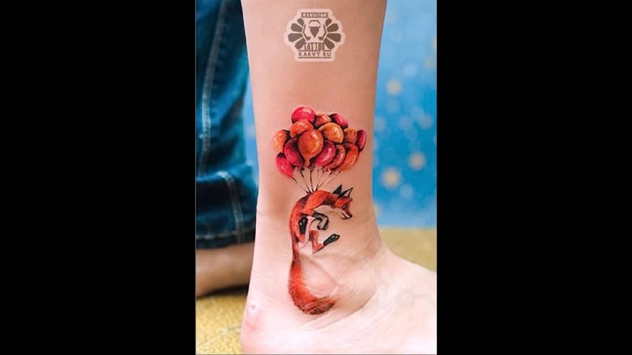 значение присущее тату лиса в искусстве тату фантастический мир