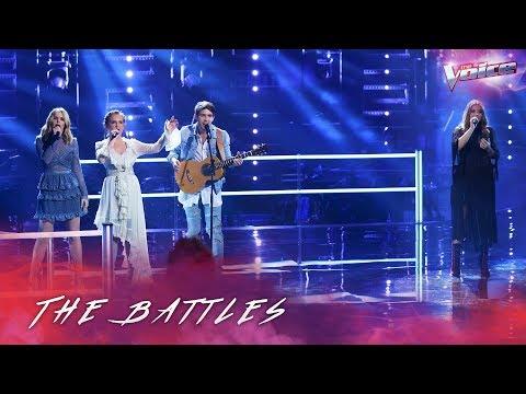 The Battles: Sally Skelton v Homegrown 'The Chain' | The Voice Australia 2018