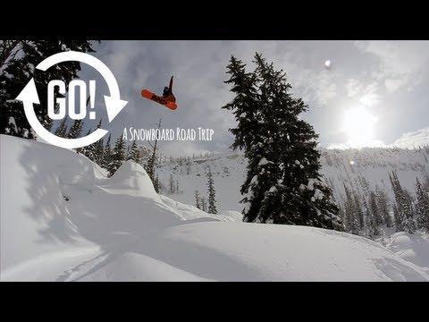 GO! A Snowboard road trip: Episode Three - Nelson BC