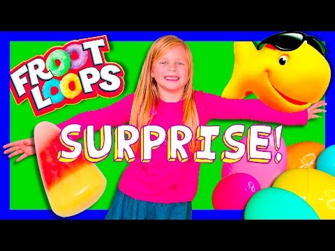 SURPRISE Fruit Loops + Gold Fish + Candy Paw Patrol + Frozen Toys Compilation Surprise Video