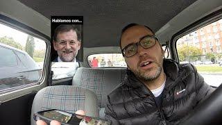 Mariano Rajoy coge el teléfono a #Autoentrevistas (parodia)