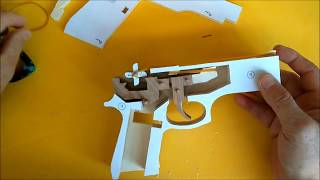 HOW TO MAKE RUBBER BAND GUN