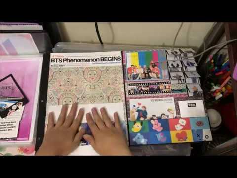 Making BTS USTake-Over Scrapbook Page